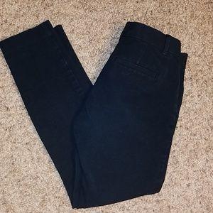 Gap size 0R skinny ankle dress pant